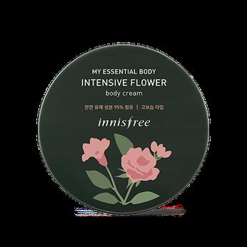 Kem dưỡng ẩm toàn thân chiết xuất từ Hoa Hồng Phong LữInnisfree My Essential Body Intensive Flower Body Cream
