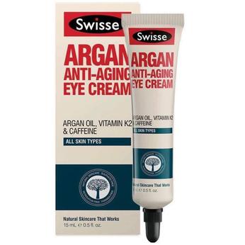 Kem chăm sóc vùng da mắt và chống lão hóa vùng da quanh mắt Swisse Argan Anti Ageing Eye Cream