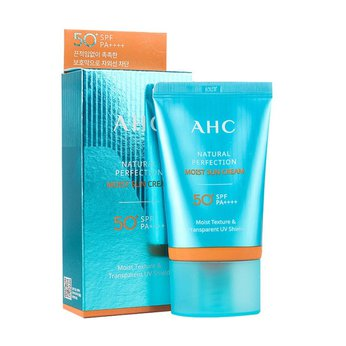 Kem chống nắng AHC Natural Perfection Moist Sun Cream SPF50+ PA++++