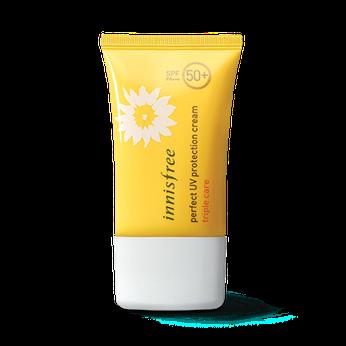 Kem chống nắng đa chức năng Innisfree Perfect UV Protection Cream Triple Care SPF 50+ PA+++