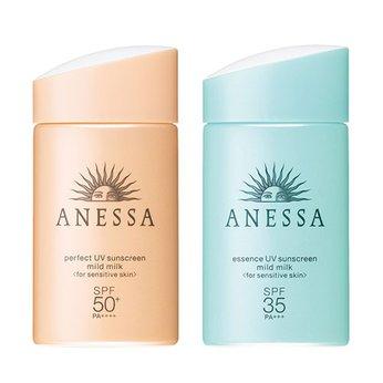 Kem chống nắng dành cho da nhạy cảm và da dầuShiseido Anessa Perfect UV Sunscreen Mild Milk