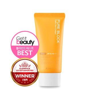 Kem chống nắng hằng ngàyA'pieu Pure BlockNatural Daily Sun Cream SPF45 PA+++