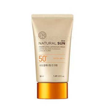 Kem chống nắng huyền thoại của The Face Shop Natural Sun Eco Power Long Lasting Sun Cream SPF50+ PA+++