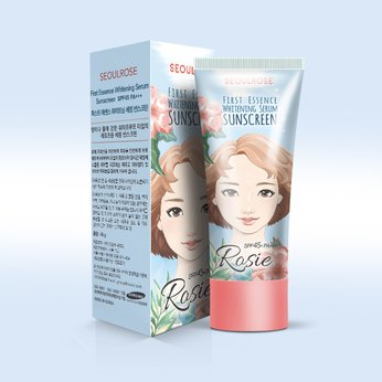 Kem chống nắng Rosie First Essence Whitening Serum Sunscreen SPF 45 PA+++