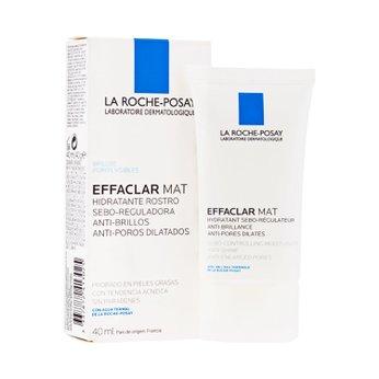 Kem dưỡng ẩm kiềm dầu cho da nhờn và dầu nhiều La Roche-Posay Effaclar MAT Moisturizer Oily Skin 40ml