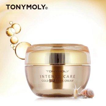 Kem dưỡng ốc sên giúp dưỡng trắng và tăng độ đàn hồi chống nhăn daTonymoly Intense Care Gold 24K Snail Cream 45ml