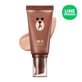 Phiên bản Giới hạn với packing chú gấu Brown siêu đáng yêu Kem nềnMissha Line Friends Edition Perfect Cover BB Cream