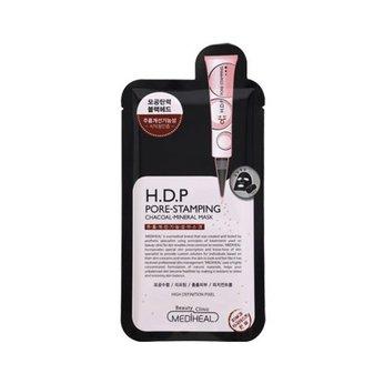 Mặt nạ than hoạt tính giúp thải độc và kiểm soát lượng nhờ giúp se lỗ chân lôngMediheal H.D.P Pore-Stamping Charcoal-Mineral Mask
