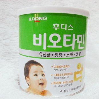 Men vi sinh nội địa Hàn QuốcILDongFoodis Biotamin dành cho bé lười ăn và chậm tăng cân