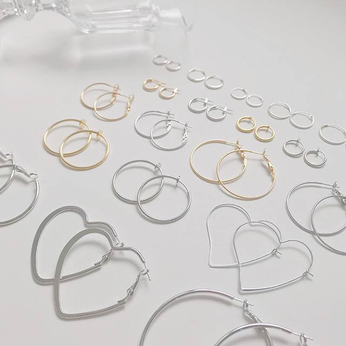 Những Bông tai đơn giản Simple Rings