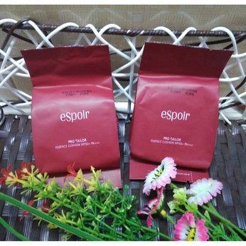 Lõi phấn nước 3 trong 1 Cushion Espoir Pro Tailor Essence SPF50+ PA+++
