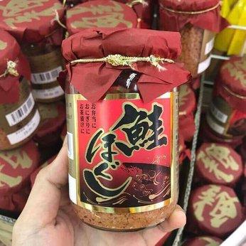 Ruốc cá hồi nắp đỏ Nhật Bản 160g ăn dặm dành cho bé