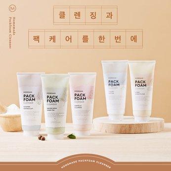 Sữa rửa mặt và dưỡng da Missha Homemade Pack Foam Cleanser