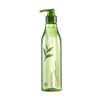 Sữa tắm chiết xuất từ tinh dầu trà xanh giúp dưỡng ẩm và chống lão hóa daInnisfree Green Tea Pure Body Cleanser