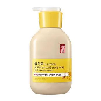 Sữa tắm tẩy tế bào chết toàn thânilliyoon fresh moisture scrub body wash 400ml