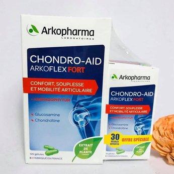 Thuốc bổ xương khớp của Pháp Arkopharma Chondro-Aid Arkoflex Fort
