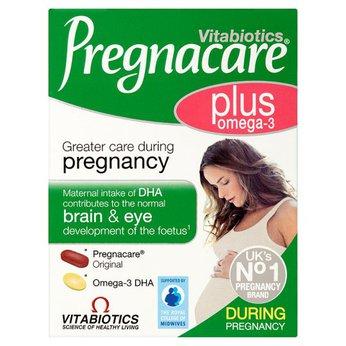 Vitamin cho bà bầu Vitabiotics Pregnacare PlusOmega 3 dùng trong suốtthai kỳ của UK