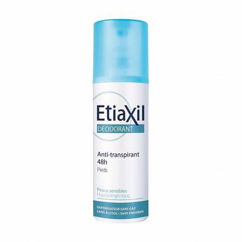 Xịt khử mùi đặc trị mồ hôi chân Etiaxil Déodorant Anti-Transpirant 48h Pieds 100 ml