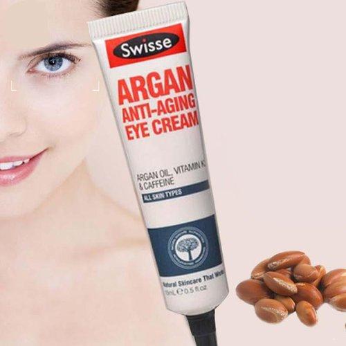 c9487490ca Kem chăm sóc vùng da mắt và chống lão hóa vùng da quanh mắt Swisse Argan  Anti Ageing Eye Cream