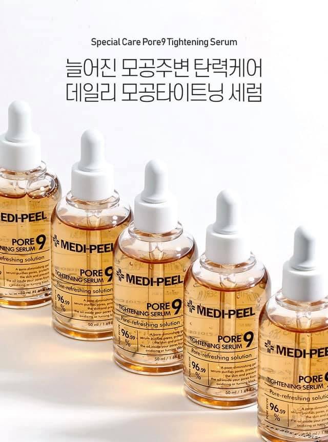 Tinh chất dưỡng da se khít lỗ chân lông Medi-Peel Pore 9 Tightening Serum