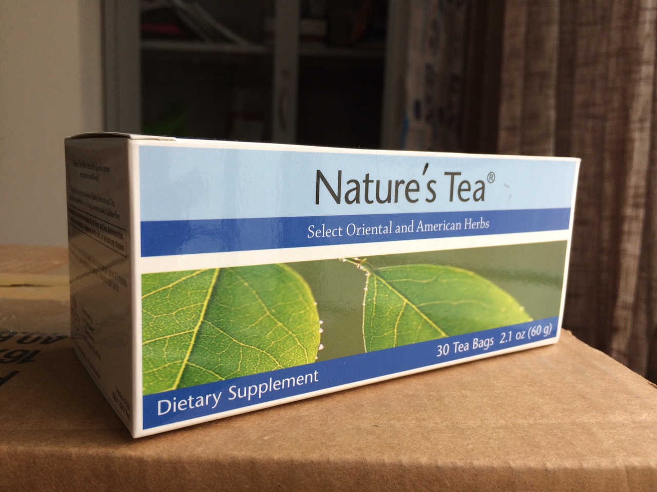 Trà thải độc ruột Nature's Tea của Unicity