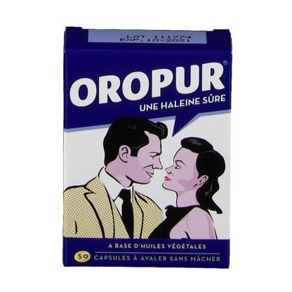 Viên thuốc trị hôi miệng Oropur 50 viênPháp
