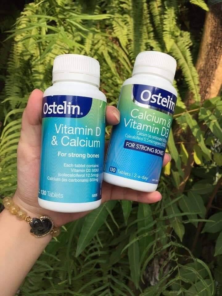 Viên uống bổ sung Canxi cho bà bầuOstelin Vitamin D vàCalcium