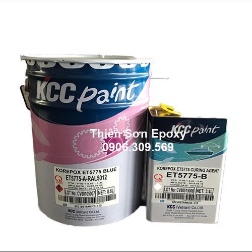 Sơn Epoxy KOREPOX ET5775 Chống Thấm Bể Nước - KCC Hàn Quốc