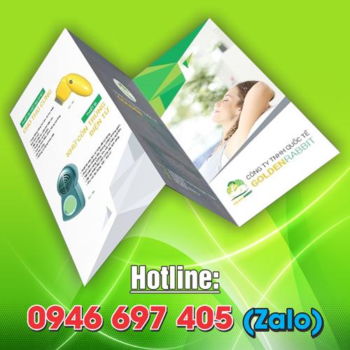 Xưởng in tờ rơi - tờ gấp - in brochure giá rẻ tại TP.HCM