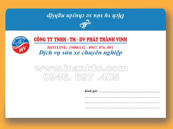Công ty nhỏ có cần in bao thư đẹp không ?