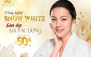 HAPPY WOMEN'S DAY 8/3 Công Nghệ Snow White Ưu Đãi 50%