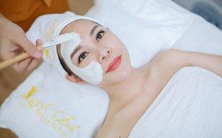 Chăm sóc da - Massage mặt thư giãn