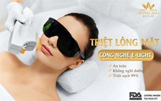 Triệt lông mặt vĩnh viễn tại Nha Trang - Quỳnh Anh Beauty & Spa