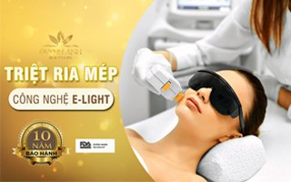 Triệt ria mép công nghệ E-Light – Quỳnh Anh Beauty & Spa Nha Trang