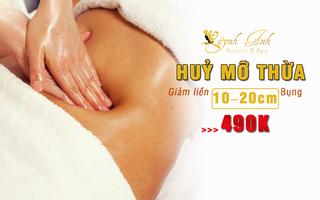 Trải nghiệm dịch vụ Massage giảm mỡ bụng ở Nha Trang chỉ với 490k