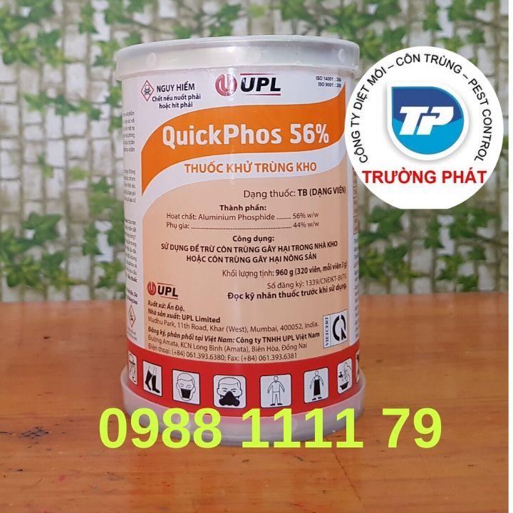 Thuốc diệt mọt Quickphos 56% | Thuốc khử trùng