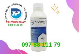 Thuốc diệt muỗi K-Othrine 2EW - Thuốc diệt côn trùng gây hại