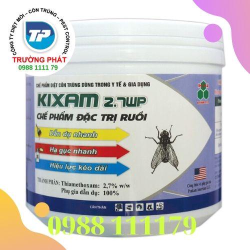 Thuốc diệt ruồi KIXAM 2.7WP Đặc trị diệt ruồi hiệu quả cao