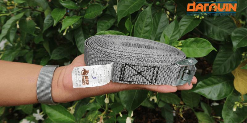 Dây chằng hàng khóa cam bản 25 dài 5m màu xám (mã màu hiếm)