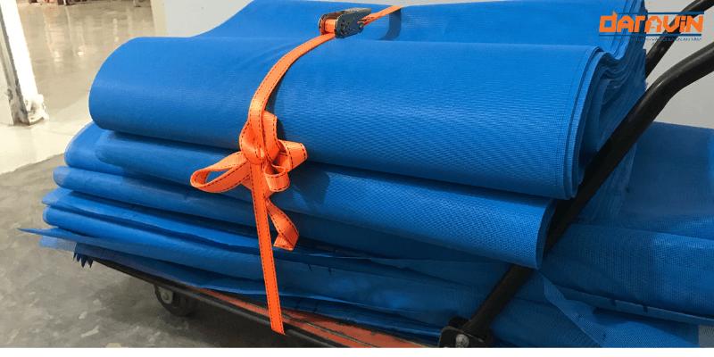 Dây chằng hàng tăng đơ bản 25 dài 8m tải 800kg giúp cố định hàng trên xe đẩy