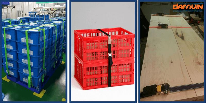 Ứng dụng của dây chằng hàng tăng đơ bản 25 dài 5m tải 800kg trong công nghiệp