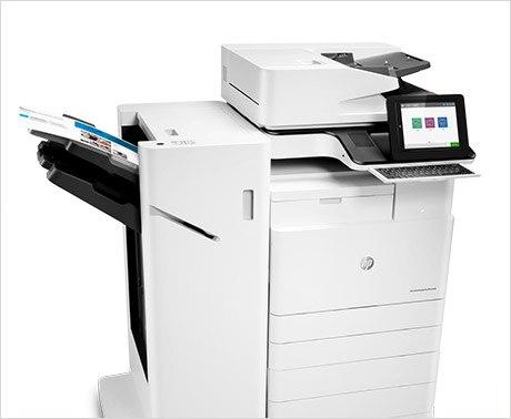 HP  MFP E87660z