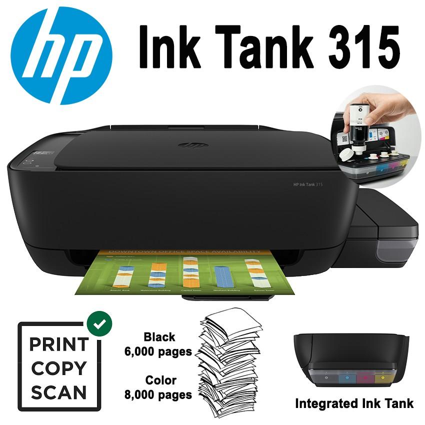 HP Ink Tank 315 eAIO