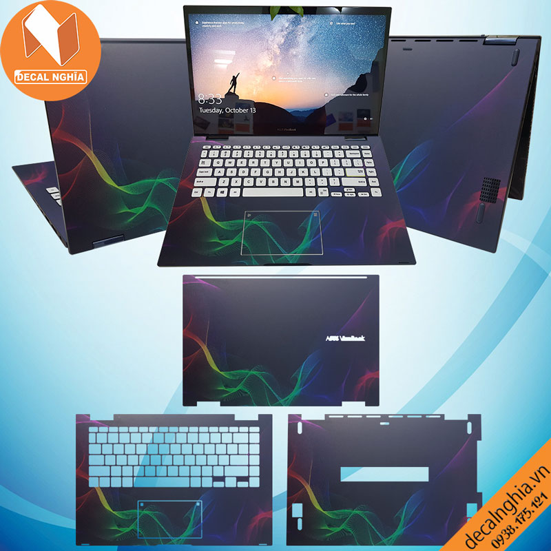 Skin dán laptop Asus TP412