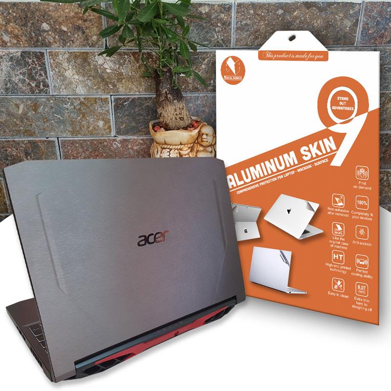 Aluminum dán laptop Acer Nitro 5 AN515