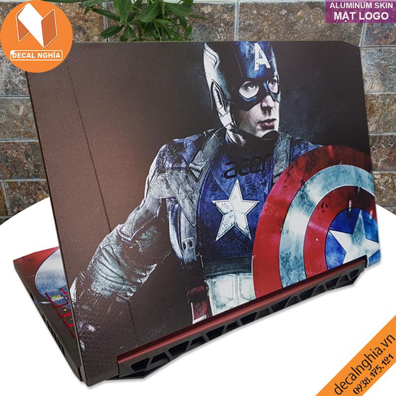 Aluminum skin dán laptop Acer Nitro 5 AN515