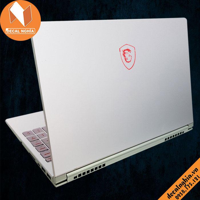 Aluminum dán laptop MSI 15 A10M