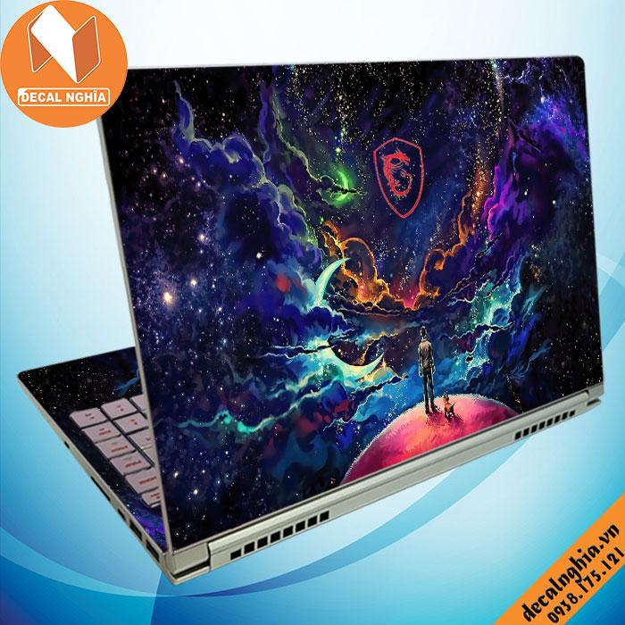 Aluminum skin dán laptop MSI 15 A10M