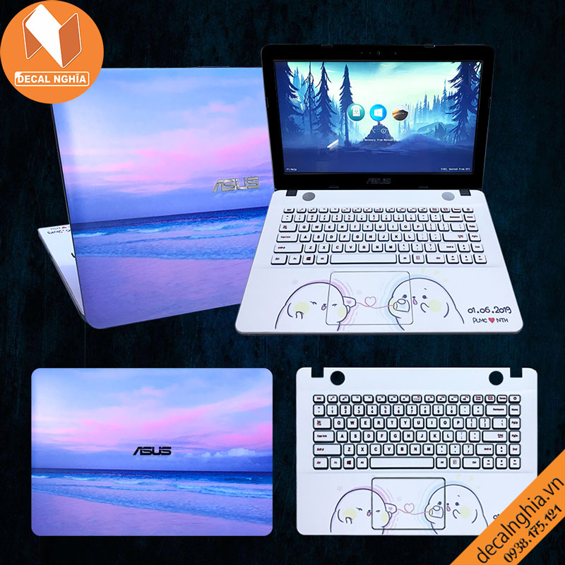 Skin dán laptop Asus A441