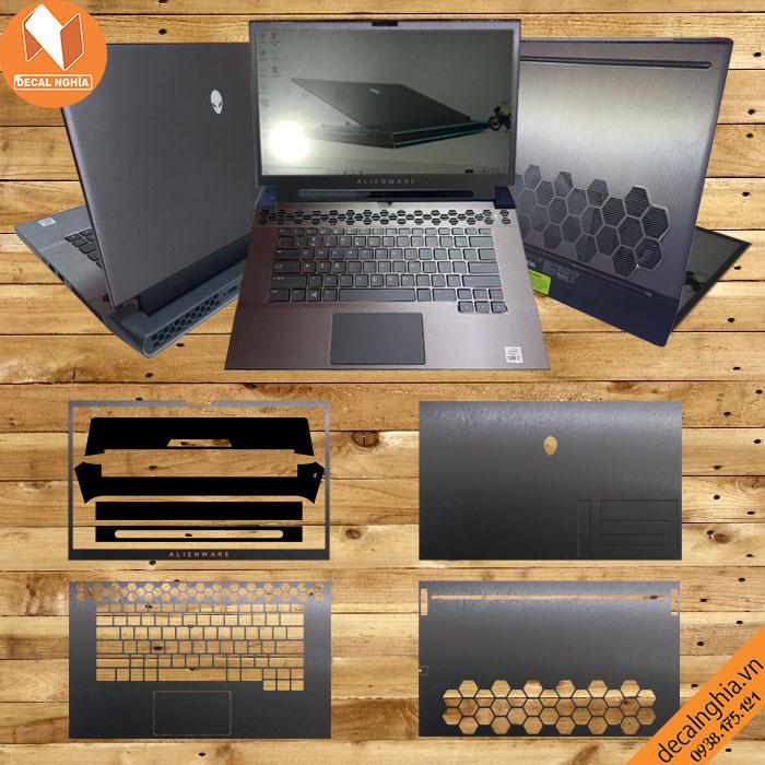 Aluminum dán Laptop Alienware M15R3